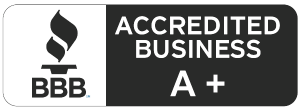 Better Business Bureau A+ rating image